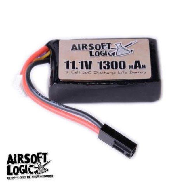 Airsoft Logic 11.1V Li-po Battery 1100maH (PEQ 15)