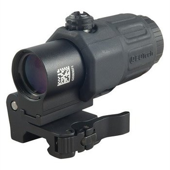 eotech EoTech G33.STS.BLK G33 Magnifier with Switch to Side Mount, Black Finish