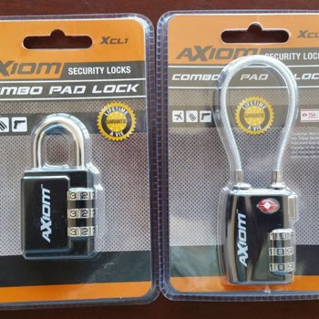 Axiom Axiom XCL9 Combination pad lock