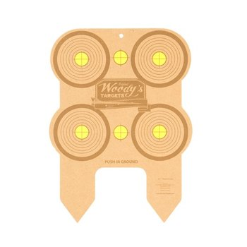 Woody's six inch target 6pack