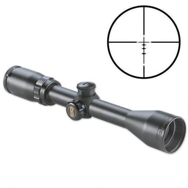 Bushnell Banner 3-9x40 Rifle Scope MZ200 Reticle 1/4 MOA Matte Black