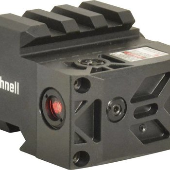 Bushnell Bushnell AR Optics Rush Hi-Rise Mount with Integrated Red Laser Sight Picatinny-Style Black