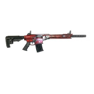Derya Derya Arms MK12, Distressed Red/White Maple Leaf - 12GA, 3'', 20'' Barrel