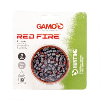 GAMO Red Fire .22 Cal Air Rifle Pellets 15.4 Grains 125 Count