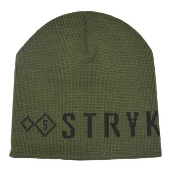 stryk fishing appreal Stryk Beanie Black/Mil-green