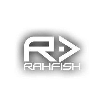 RAHFISH RAHFISH BIG R WHITE XL size W/ BLK TEE