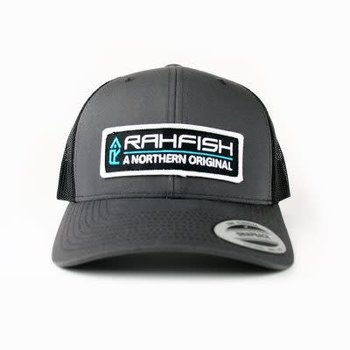 RAHFISH RAHFISH NOR ORIG CHAR/BLK TRUCKER HAT