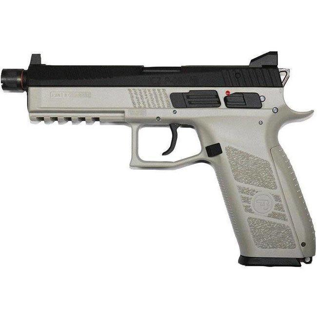 ASG CZ P-09  Urban Grey Airsoft GBB Gas Blowback Full Metal Pistol