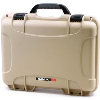 Nanuk Nanuk 910 Case with Foam Classic Tan