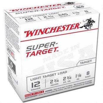 WINCHESTER Winchester Super-Target Trap Load 12 GA, 2-3/4'',  1-1/8 oz #8, 25 Rnds, in box
