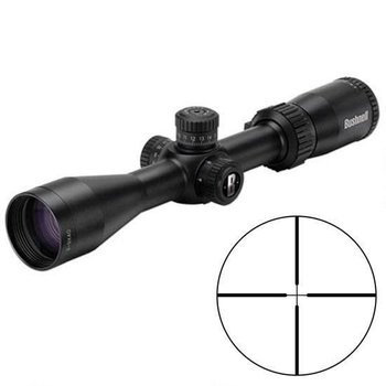 Bushnell Bushnell Rimfire Optics 3-9x40mm Rimfire Riflescope Multi-X Reticle 1'' Tube .25 MOA Adjustment Second Focal Plane .22LR/.17HMR Turrets Matte Black 633941