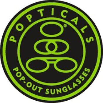 Popticals Sunglasses Popticals Polarized Lense Brown BrownMatte Frame