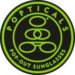 Popticals Sunglasses Popticals Polarized Lense Gray GrayMatte Frame