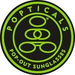 Popticals Sunglasses Popticals Polarized Lense Gray GrayGloss Frame