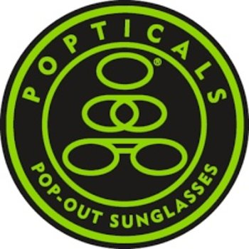 Popticals Sunglasses Poptical Polarized Lense Gray GrayGloss Frame