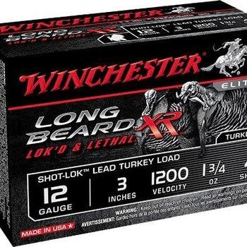 WINCHESTER Winchester STLB1234  12ga 3'' 1-3/4o 4Shot Long Beard Xr Lead Turkey