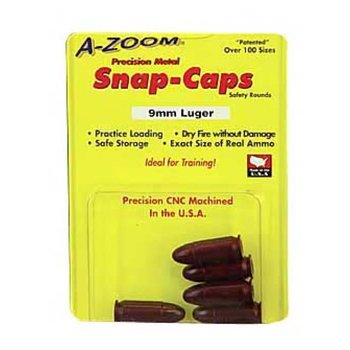 a-zoom A-Zoom 15116 Snap Caps for 9mm Five Pack Dummy
