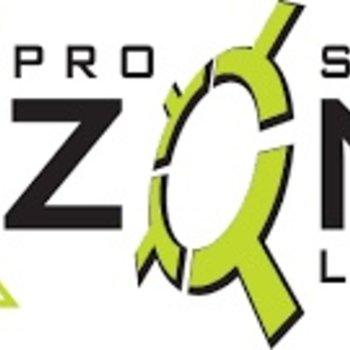 VRX FISHING X Zone Lures 4'' Grub, Green/Yellow