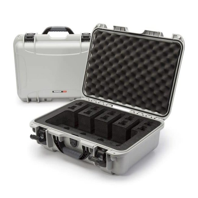 Nanuk Case with Foam insert for 4UP Silver 925