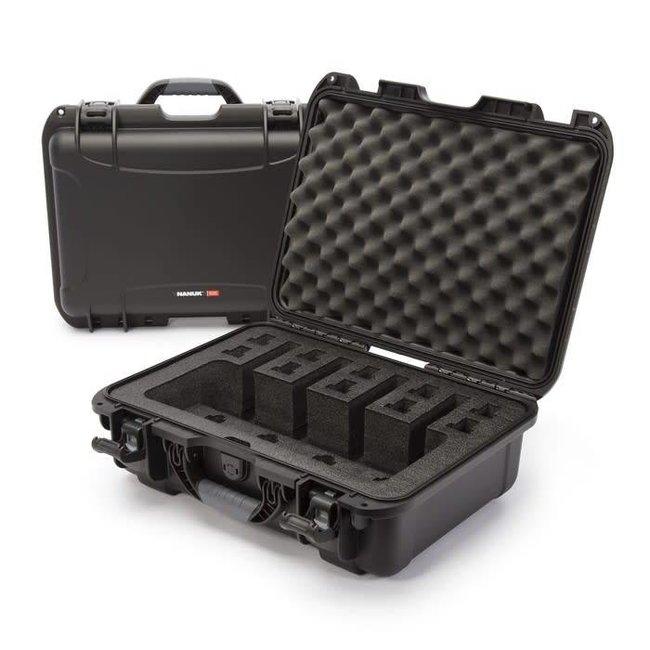 Nanuk Case with Foam insert for 4UP Black 925