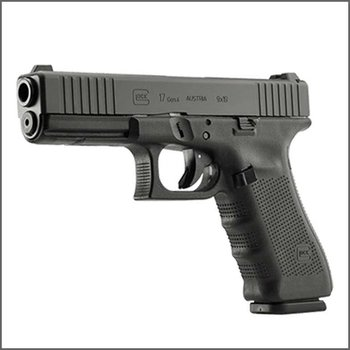 Glock Solely Exclusive Pre-order:  Glock 17 Gen4 FS Front slide Serration