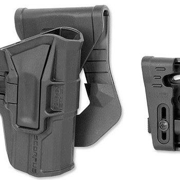 FAB DEFENSE M1 G-9 MODEL M1 Glock 9mm Level 1 Paddle & Belt RH Holster