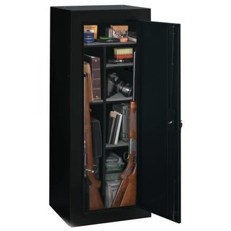 Stack-On 18 Gun Convertible Security Cabinet Black