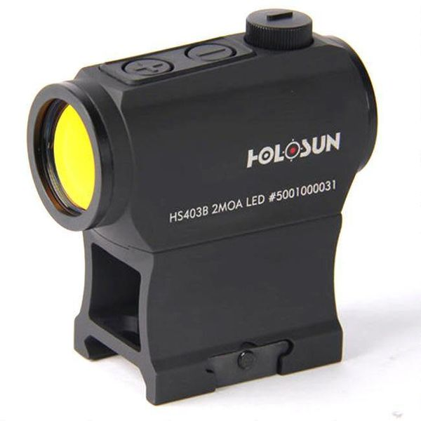 holosun Holosun Paralow Red Dot Sight 1x 2 MOA Dot, Weaver-Style Low and Lower 1/3 Co-Witness Mounts, Matte Black