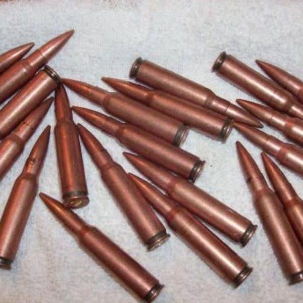 Chinese State Arsenal Chinese 7.62x39 Surplus Ammunition 25 rounds single