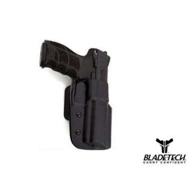 BLADETECH CLASSIC OWB HOLSTER (Tanfoglio lim/Custom/stock 2 Aus) right hand,drop&offset-tek-lok include