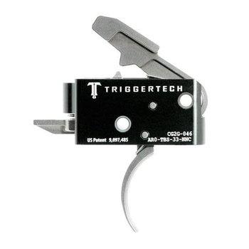 Trigger Tech TriggerTech Competitive AR Trigger 3.5lbs Curved AR0-TBS-33-NNC