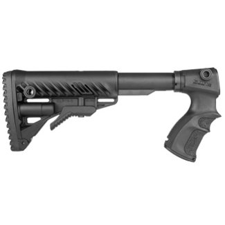 FAB M4 Stock for Rem 870 Black