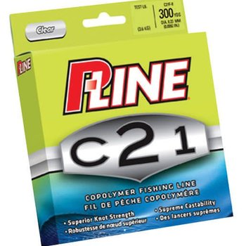 P-Line P-Line C21 Copolymer Fishing Line - Clear - 12 lb.
