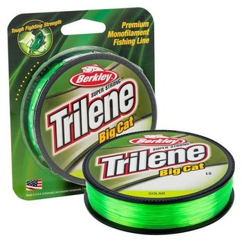 Berkley Berkley Trilene Big Cat Monofilament 30 lb Test 220 YD Fishing Line Solar Green