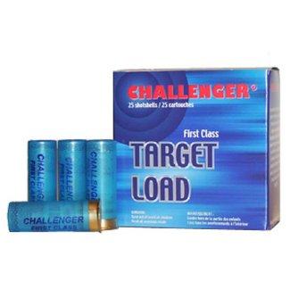Challenger Challenger 12GA. Target Load Shotshells #7.5, 2-3/4'' - Box of 25