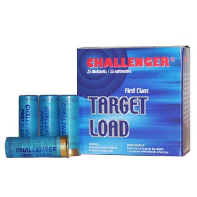 Challenger 12GA. Target Load Shotshells #7.5, 2-3/4'' - Box of 25