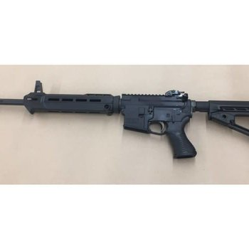 "Savage Savage MSR 15 Patrol Semi-Auto Rifle 5.56 NATO, 16.1"" Barrel 5 Rounds Adjustable Sights Collapsible Stock Black"
