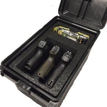 MTM Tactical 3pcs Pistol Handgun Case