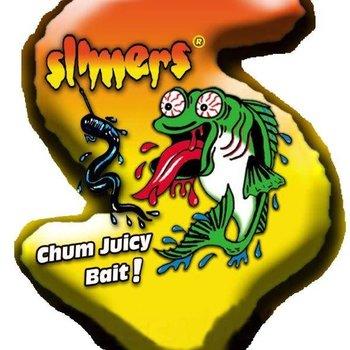 Slimers canada Slimers 6'' Blue Ice Cut Bait 6BLUEICB10 - 4oz 10/ cap