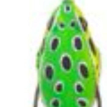 Lunkerhunt Lunkerhunt Prop Frog Soft Bait - Leopard