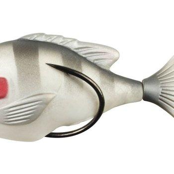 Lunkerhunt Lunkerhunt Prop Sunfish Soft Bait - Ghost