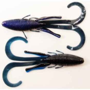 Missile Baits Missile Baits D Stroyer Black/ Blue Laminate 6 Pack