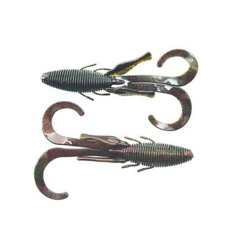 Missile Baits Missile Baits D Stroyer Black Red Flake/ Watermelon Red Laminate 6 Pack