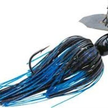 Z-man Z-Man Project Z Chatterbait Lure 1/2 oz Black Blue