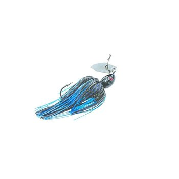 Z-man Z-Man Project Z Chatterbait Lure 3/8 oz Black/Blue