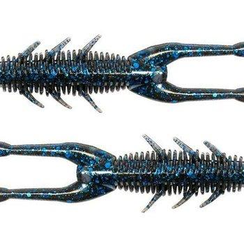"Z-man Z-man ElaZtech TRD HogZ Bait 3"" Black/Blue 6 Pack"
