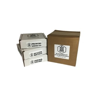 Xmetal Xmetal DIY-SLEDGEHAMMER .40 S&W 180GR Reloading Kit