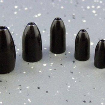 Ultra Tungsten Ultra Tungsten Bullet Weight Black 3/16oz (4pcs/pk)