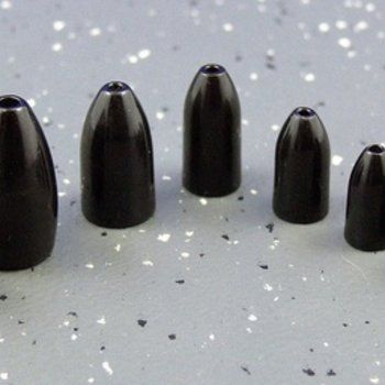 Ultra Tungsten Ultra Tungsten Bullet Weight Black 1/2oz (2pcs/pk)
