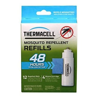 ThermaCELL Mosquito Area Repellent Refills  48-hour Value Pack (R-4) 12 insenct repellent 4 cartridges